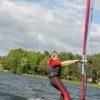 windsurfing chłopaka